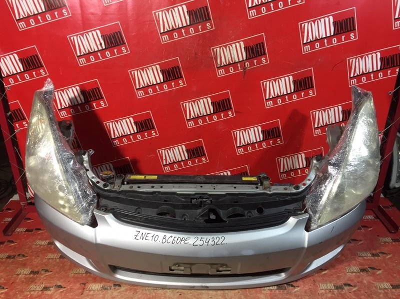 Nose cut Toyota Wish ZNE10 1ZZ-FE 2003 передний серебро