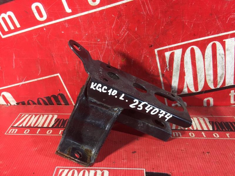 Подушка кпп Toyota Passo KGC10 1KR-FE 2004 передняя левая