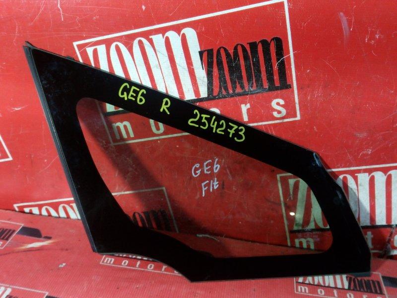 Стекло боковое Honda Fit GE6 L13A 2007 переднее правое