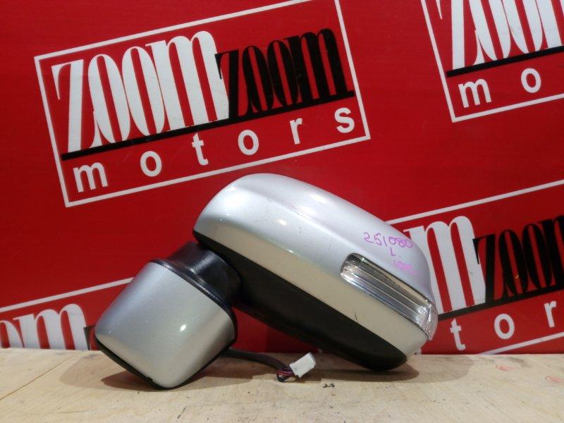 Зеркало боковое Daihatsu Boon Luminas M502G 3SZ-VE 2008 переднее левое серебро