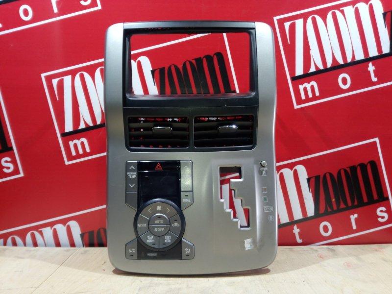 Блок управления отоплением и вентиляцией Toyota Voxy ZRR70 3ZR-FE 2007