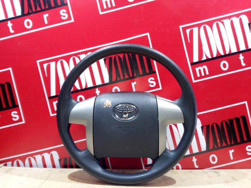 Руль Toyota Voxy ZRR70 3ZR-FE 2007 серый