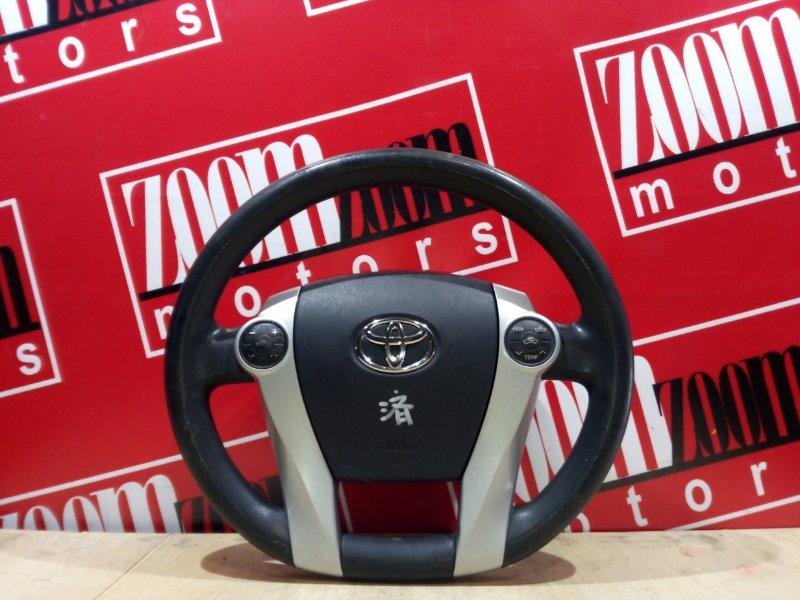 Руль Toyota Prius ZVW30 2ZR-FXE 2009