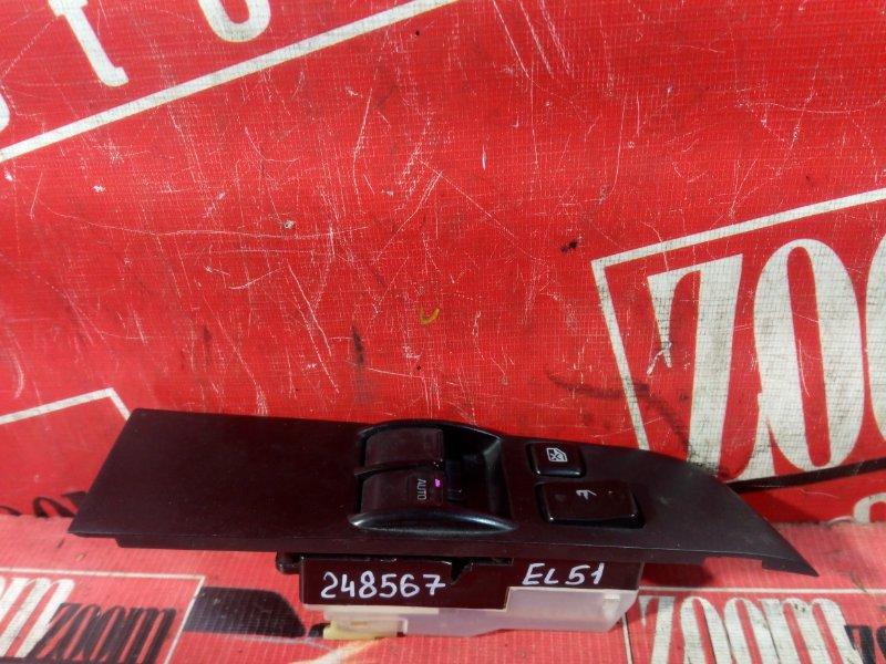 Блок управления стеклоподъемниками Toyota Tercel/corsa EL51 4E-FE 1994 передний правый