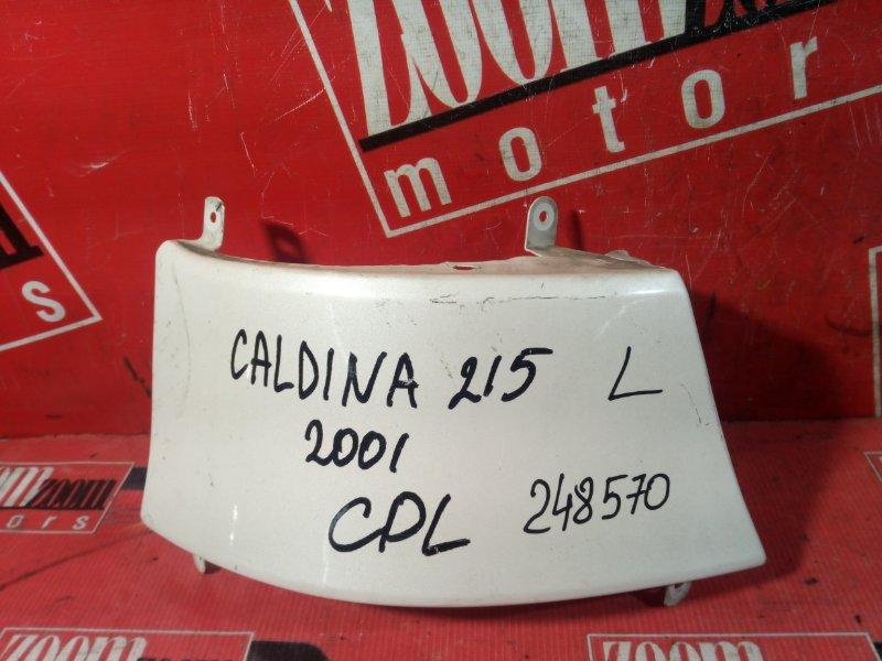 Планка под фонарь Toyota Caldina ST210 3S-FE 1996 задняя левая белый