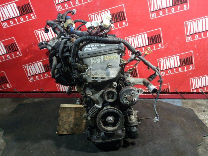 Двигатель Toyota Rav4 ACA20 1AZ-FSE 2000 4465081