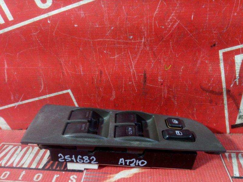 Блок управления стеклоподъемниками Toyota Corona Premio AT210 4A-FE 1997 передний правый