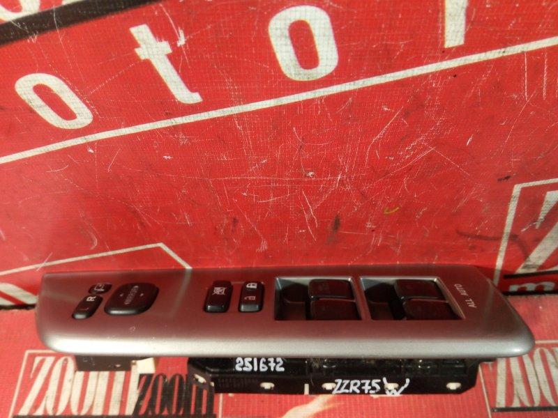 Блок управления стеклоподъемниками Toyota Noah ZRR75W 3ZR-FAE 2007 передний правый