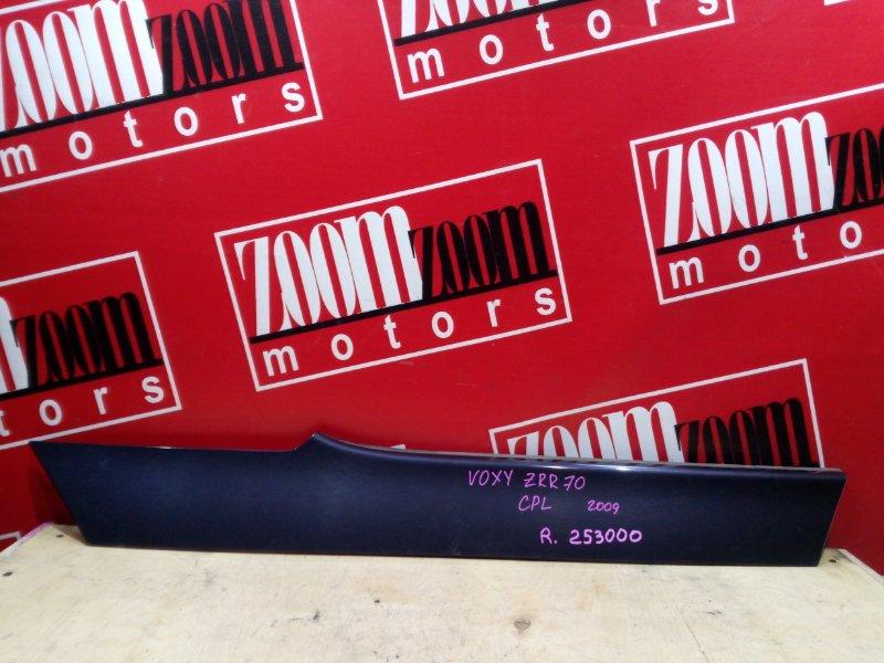 Накладка на крыло Toyota Voxy ZRR70 3ZR-FE 2007 задняя правая фиолетовый