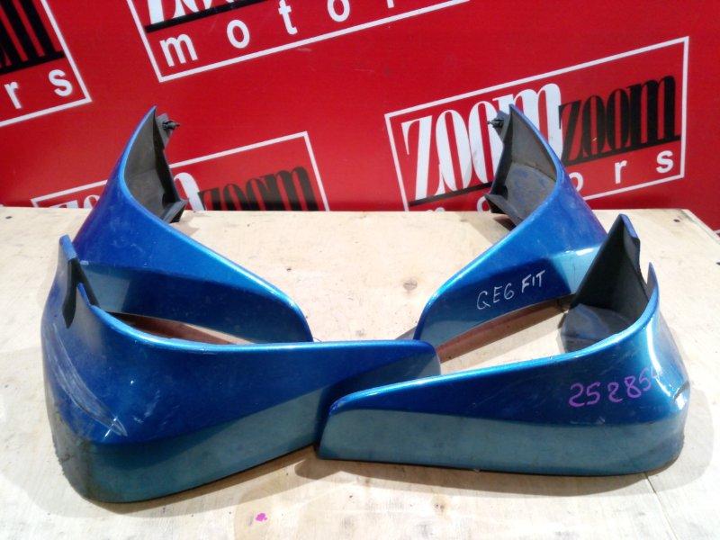 Брызговик Honda Fit GE6 L13A 2007 синий