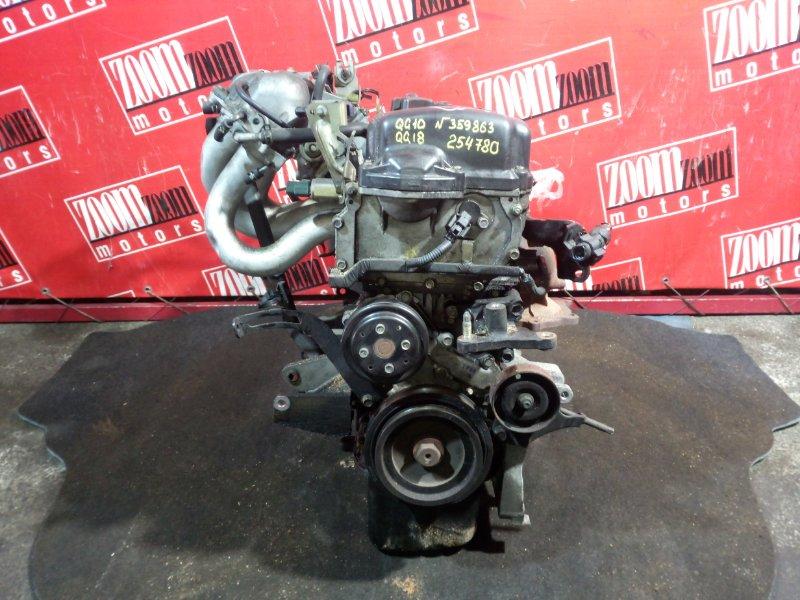 Двигатель Nissan Bluebird Sylphy QG10 QG18DE 2000 359863