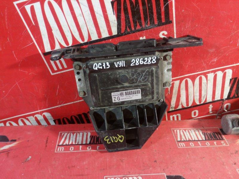 Компьютер (блок управления) Nissan Ad WFY11 QG13DE 1999 A56-X06 A3B 3Y29