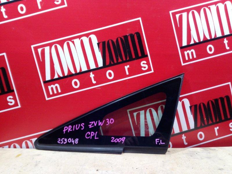 Стекло боковое Toyota Prius ZVW30 2ZR-FXE 2009 переднее левое