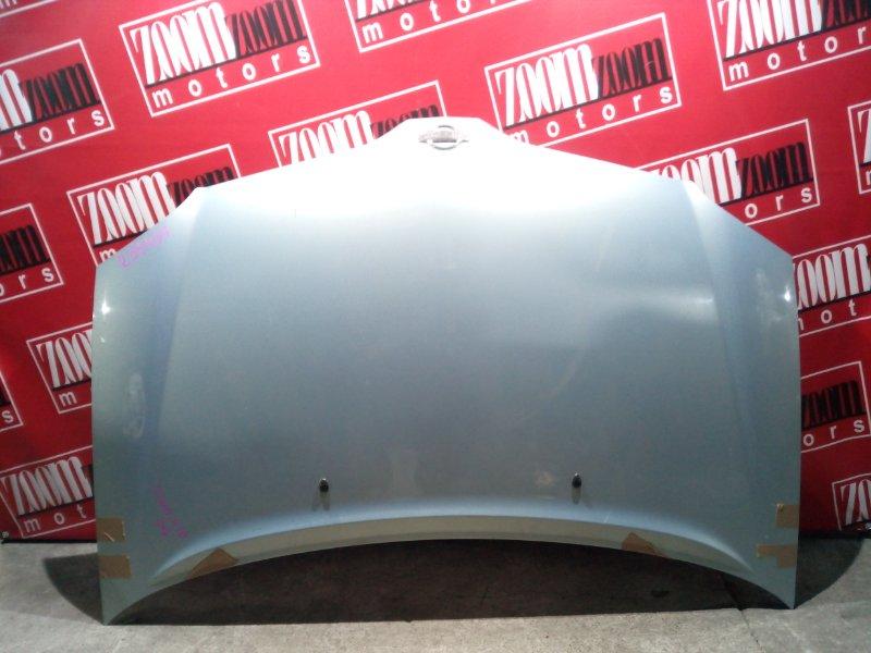 Капот Nissan Tino V10 QG18DE 1998 голубой