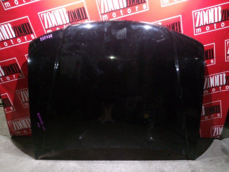 Капот Nissan Bluebird QU14 QG18DE 1996 черный