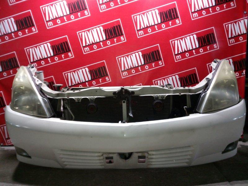 Nose cut Toyota Opa ZCT10 1ZZ-FE 2002 белый перламутр