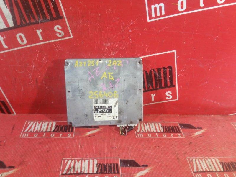 Компьютер (блок управления) Toyota Avensis AZT251 2AZ-FE 89661-05A30 MB275100-4071 12V