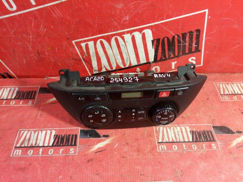 Блок управления отоплением и вентиляцией Toyota Rav4 ACA20 1AZ-FSE 2000