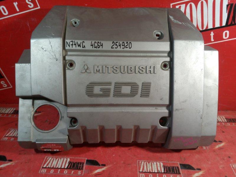 Крышка на двигатель декоративная Mitsubishi Rvr N74WG 4G64 1997