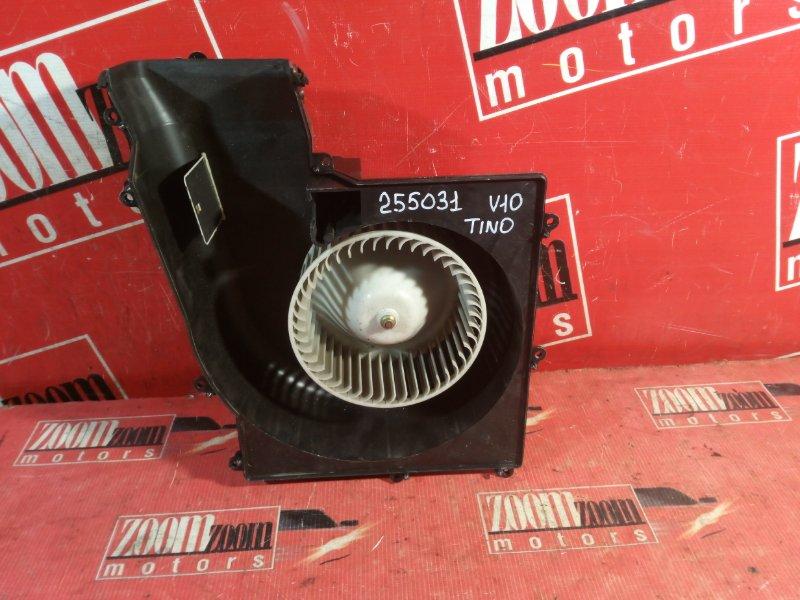 Вентилятор (мотор отопителя) Nissan Tino V10 QG18DE 1998