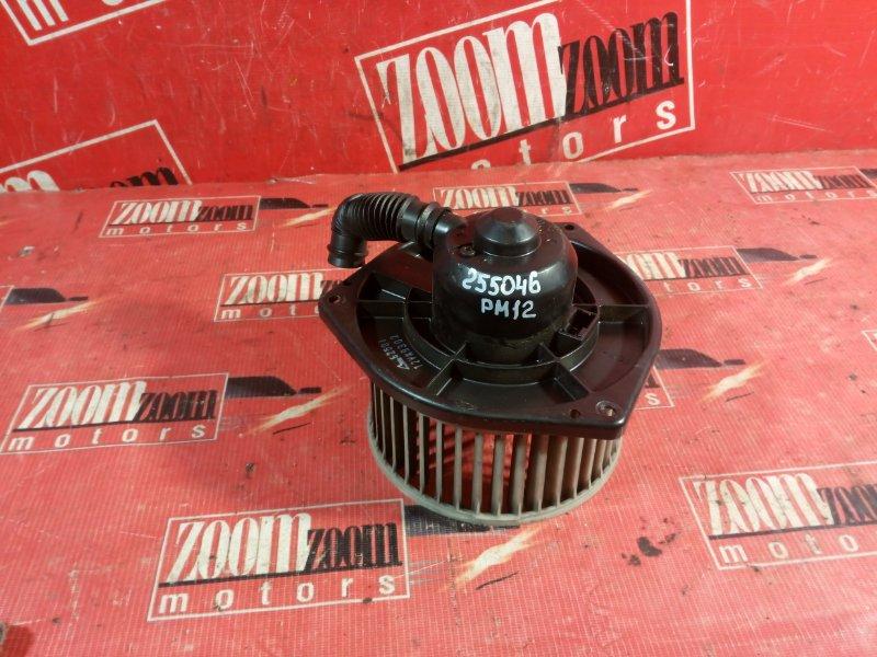 Вентилятор (мотор отопителя) Nissan Liberty PM12 QR20DE 1998