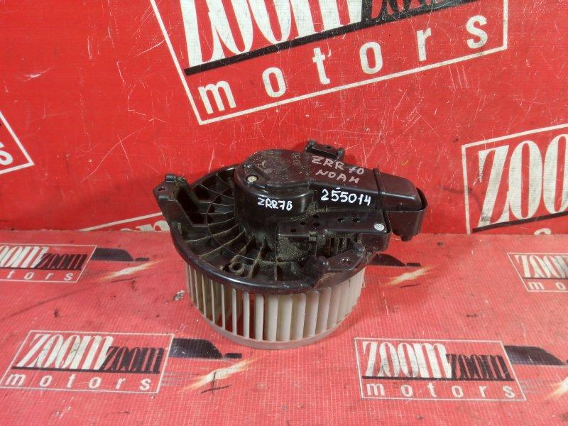 Вентилятор (мотор отопителя) Toyota Noah ZZR70 3ZR-FAE 2007