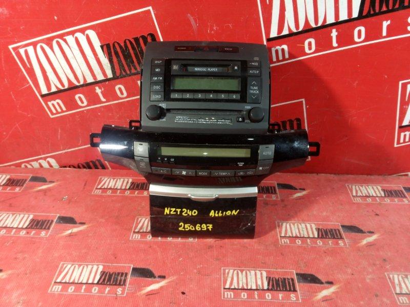 Консоль панели приборов Toyota Allion ZZT240 1ZZ-FE 2001