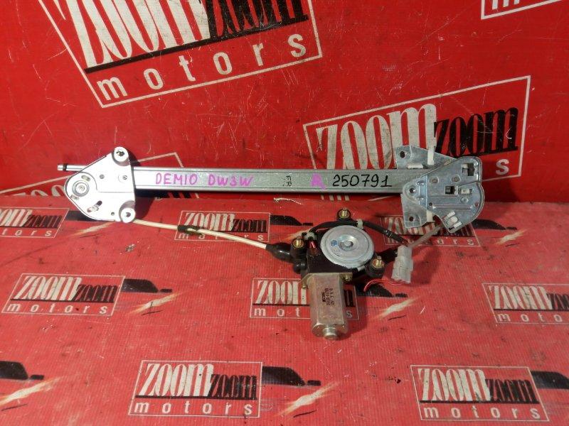 Стеклоподъемник Mazda Demio DW3W B3-E 1996 передний правый