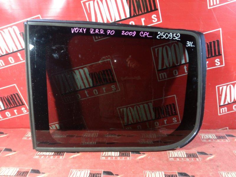 Стекло собачника Toyota Voxy ZRR70 3ZR-FE 2007 заднее левое