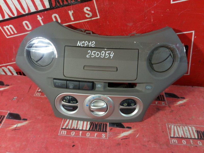 Консоль панели приборов Toyota Platz NCP12 2NZ-FE 2003