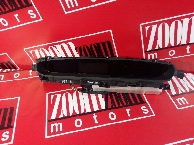 Комбинация приборов (спидометр) Toyota Prius ZVW30 2ZR-FXE 2009 201503022018320 83800-47011 J11 743-240