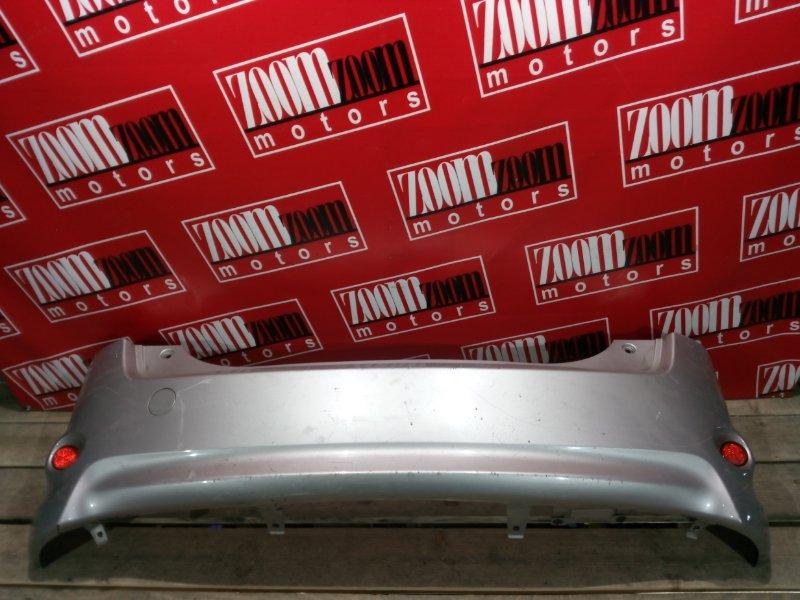 Бампер Toyota Passo Sette M502G 3SZ-VE 2008 задний серебро