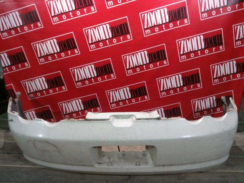 Бампер Honda Integra DC5 K20A 2001 задний белый перламутр