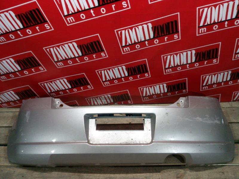 Бампер Suzuki Swift ZC11S M15A 2004 задний серебро