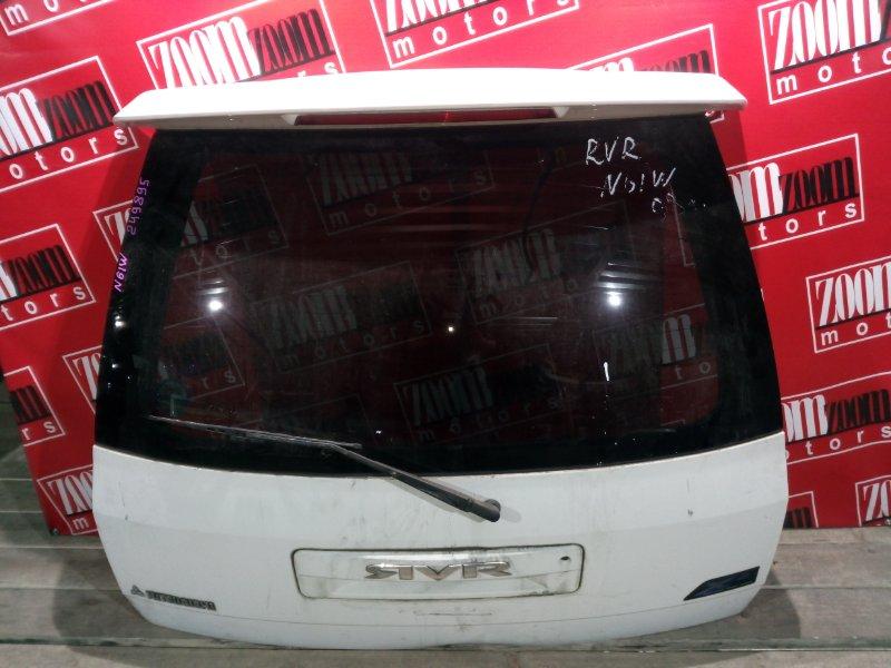Дверь задняя багажника Mitsubishi Rvr N61W 4G93 1997 задняя белый