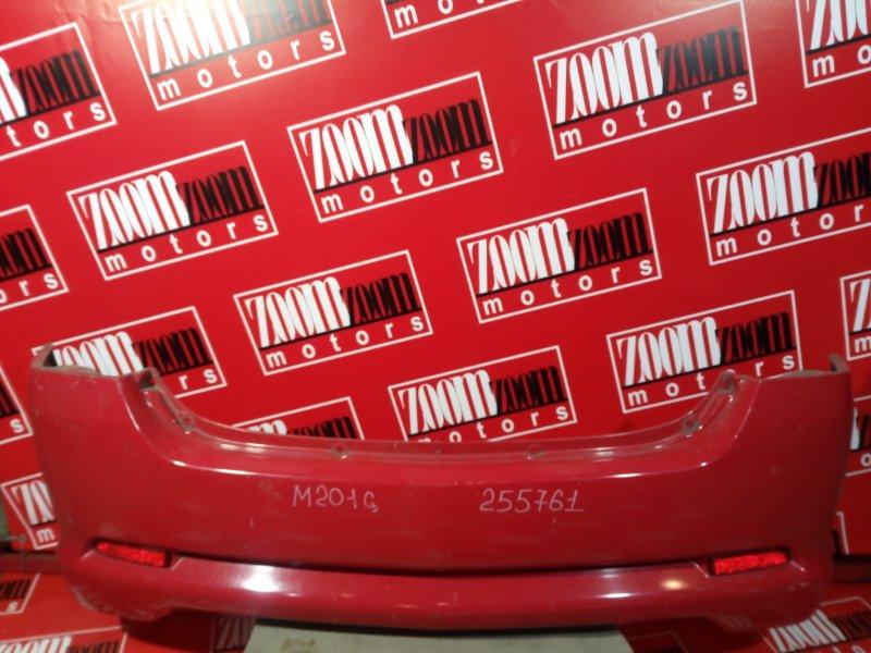 Бампер Daihatsu Yrv M201G K3-VE 1998 задний красный