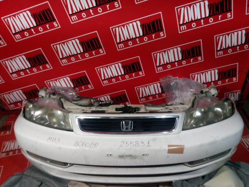 Nose cut Honda Domani MB4 D15B 1999 передний белый