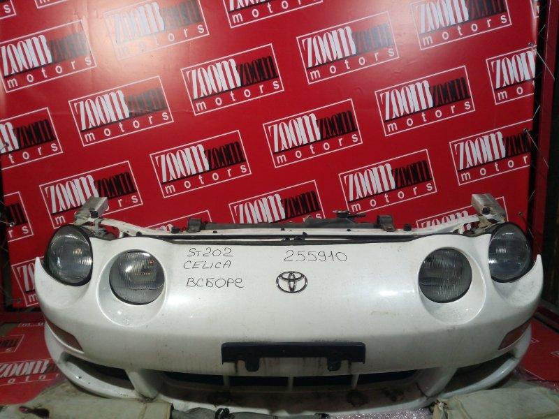 Nose cut Toyota Celica ST202 3S-FE 1993 передний белый перламутр