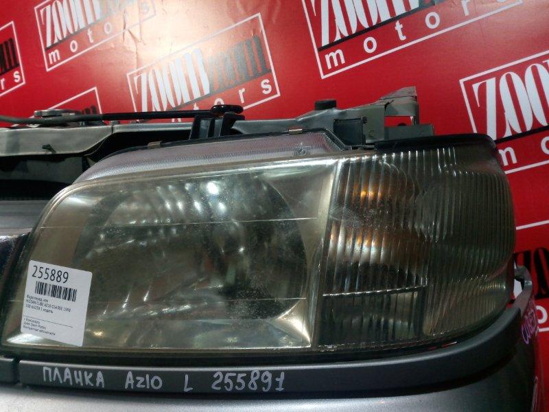 Планка под фару Nissan Cube AZ10 CGA3DE 1998 передняя левая серебро