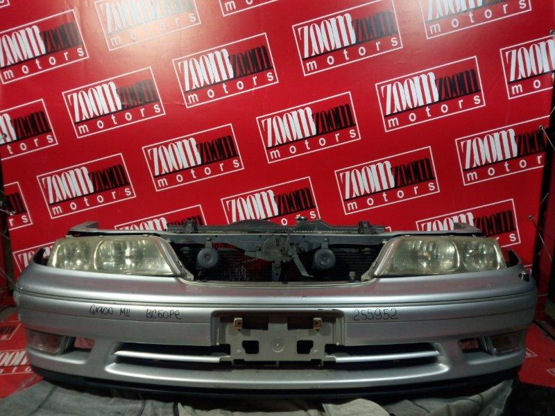 Nose cut Toyota Mark Ii GX100 1G-FE 1996 передний серебро