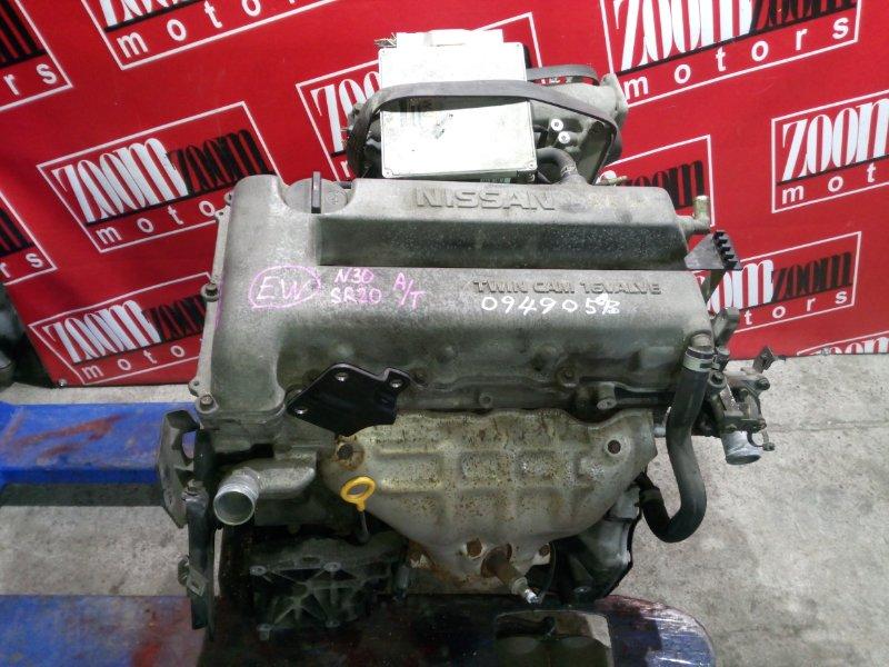 Двигатель Nissan R'nessa N30 SR20DE 1997