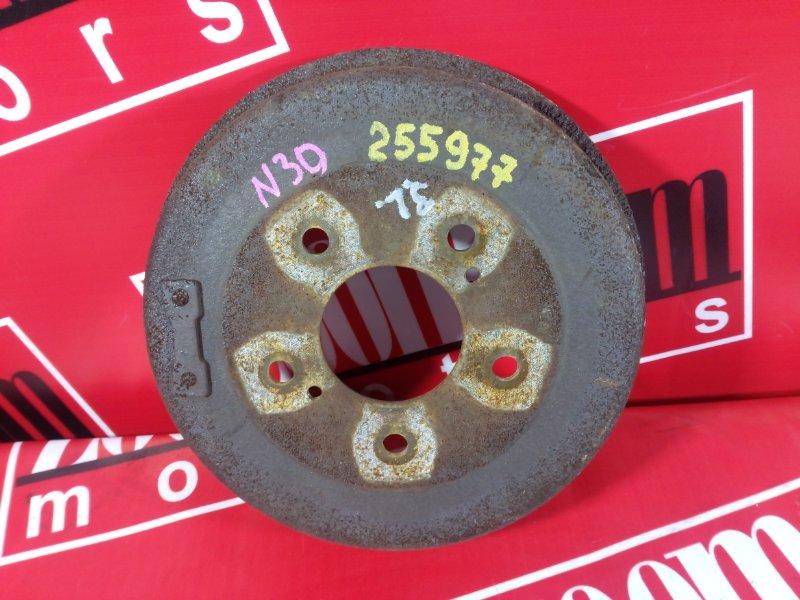 Барабан тормозной Nissan R'nessa N30 KA24DE 1999 задний