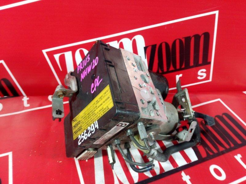 Блок abs (модулятор abs) Toyota Prius NHW20 1NZ-FXE 2003 44510-47050