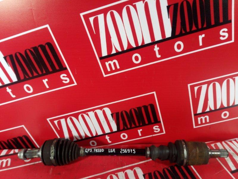 Привод Honda Freed GP3 LEA 2011 передний левый