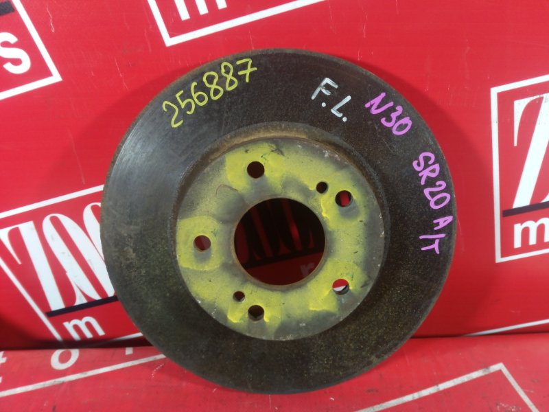 Диск тормозной Nissan R'nessa N30 SR20DE 1999 передний