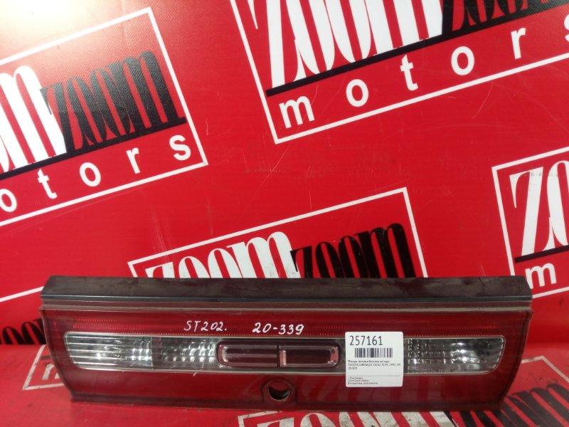 Фонарь (вставка багажника) Toyota Carina Ed ST202 3S-FE 1993 задний 20-339
