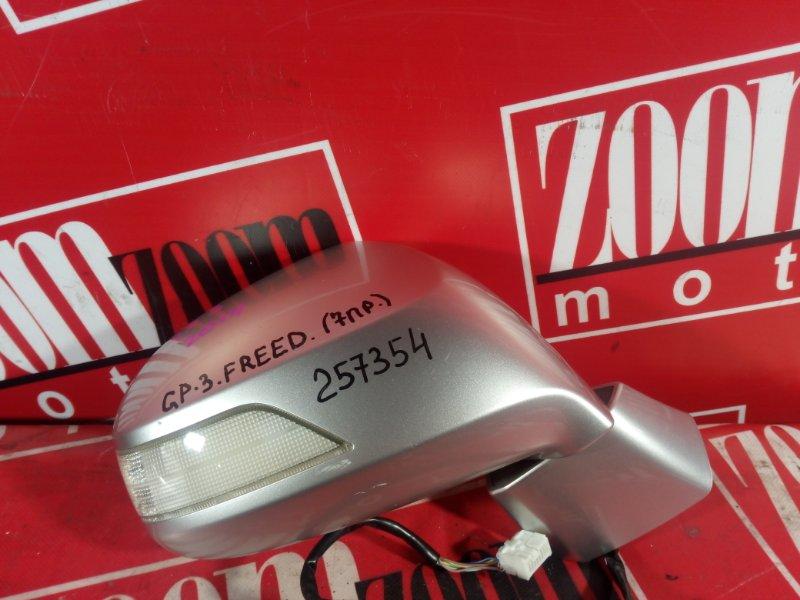 Зеркало боковое Honda Freed GP3 LEA 2011 переднее правое серебро