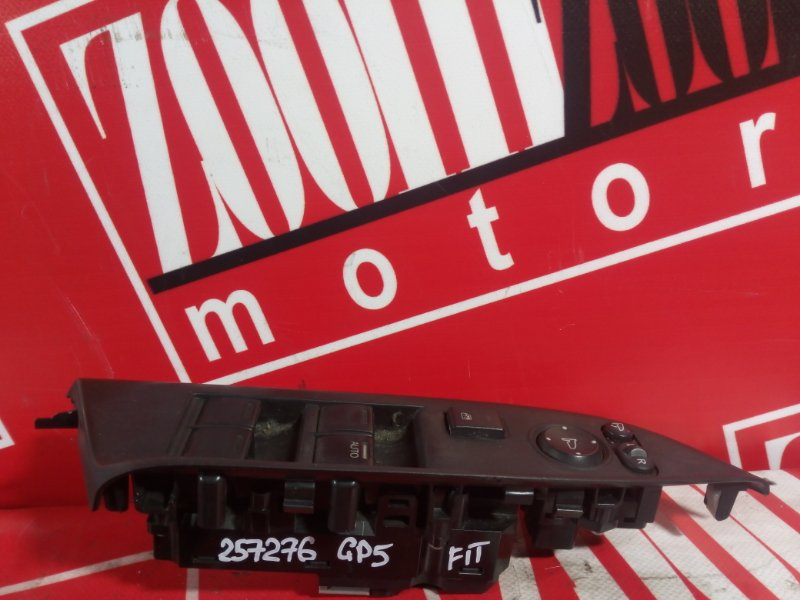 Блок управления стеклоподъемниками Honda Fit GP5 LEB 2013 передний правый