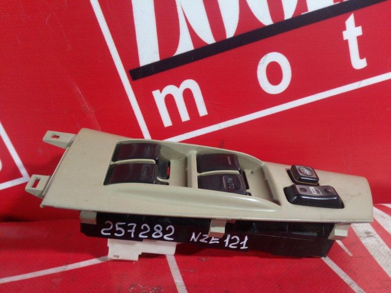 Блок управления стеклоподъемниками Toyota Corolla NZE121 1NZ-FE `2001 передний правый