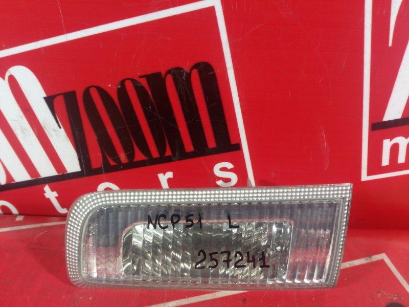 Фонарь (стоп-сигнал) Toyota Succeed NCP50 1NZ-FE 2002 задний левый 52-077